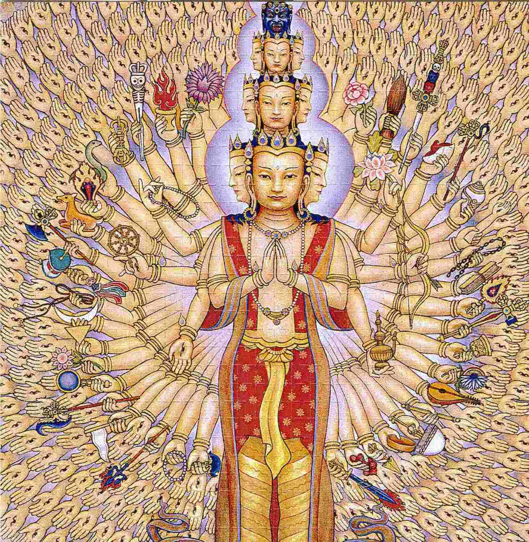 Bringing civilization to the barbarian masses Avalokitesvara